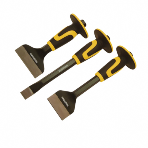 Roughneck 31-993 Chisel & Bolster Set 3 Piece